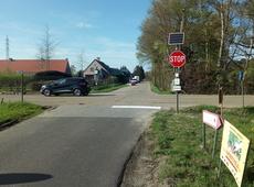 kruispunt Herenthoutsesteenweg / Zwart water